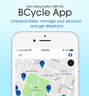 Check out the BCycle App